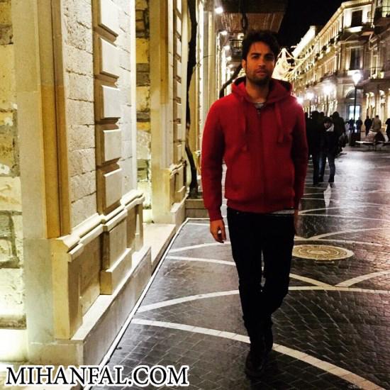 بنیامین بهادری در باکو + عکس