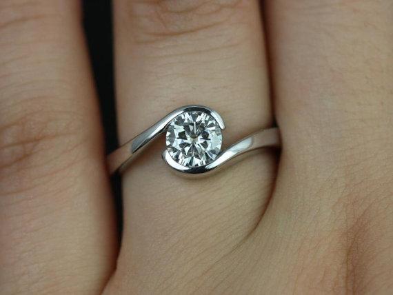 مدل حلقه بسیار زیبا نگین دار
