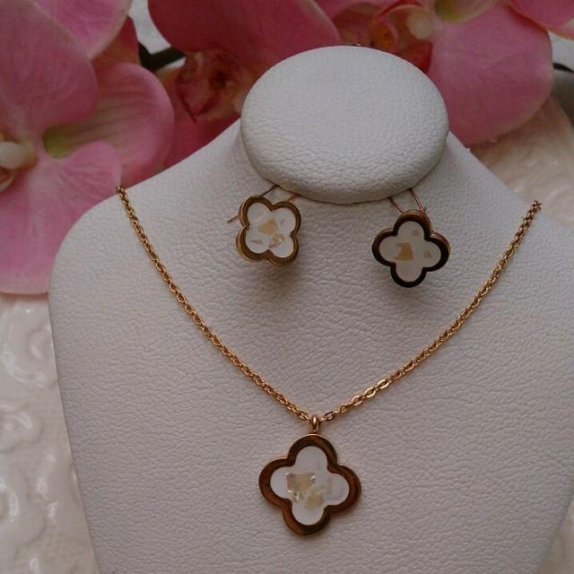 ست جواهرات جذاب و زیبای مجلسی