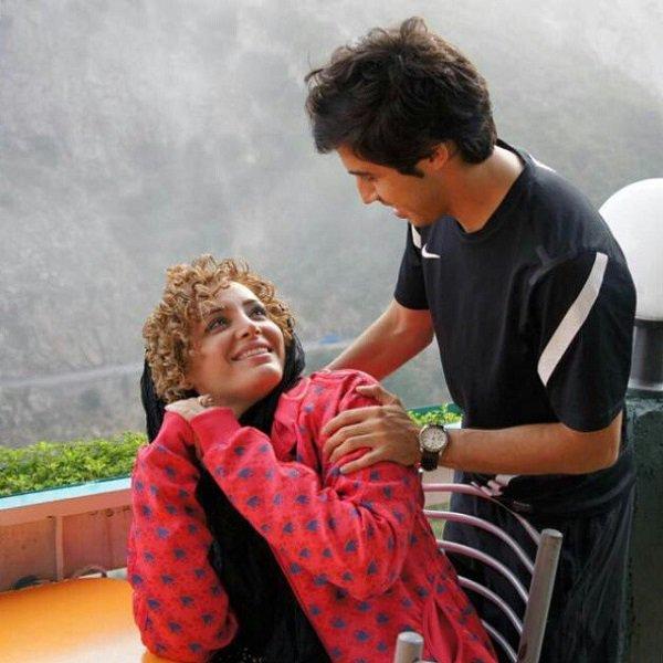 خسرو حیدری در کنار همسرش / عکس