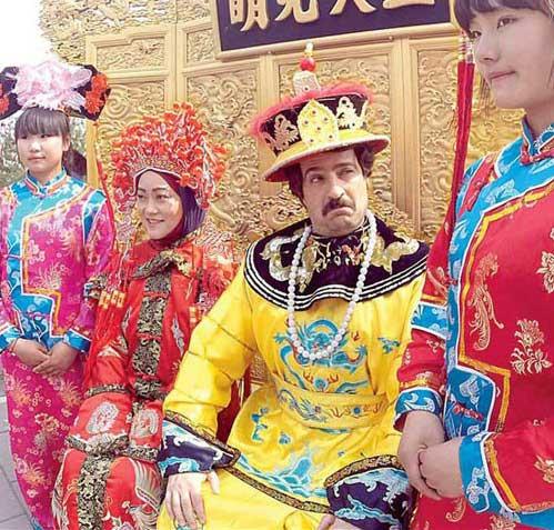 نخستین عکس از سریال پایتخت ۴ در چین
