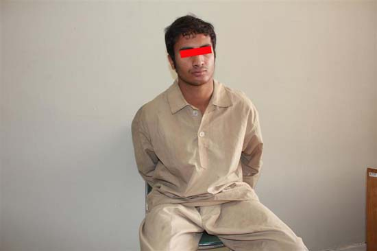 جوانی ۱۹ ساله که قصد آزار و اذیت دختر ایرانی را داشت + عکس