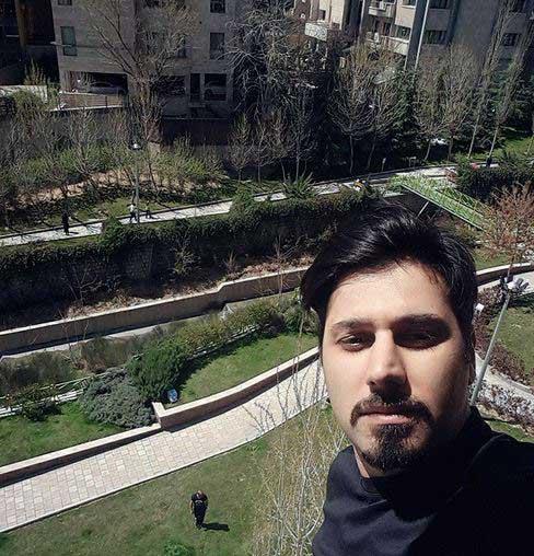 سلفی احسان خواجه امیری در روز طبیعت + عکس