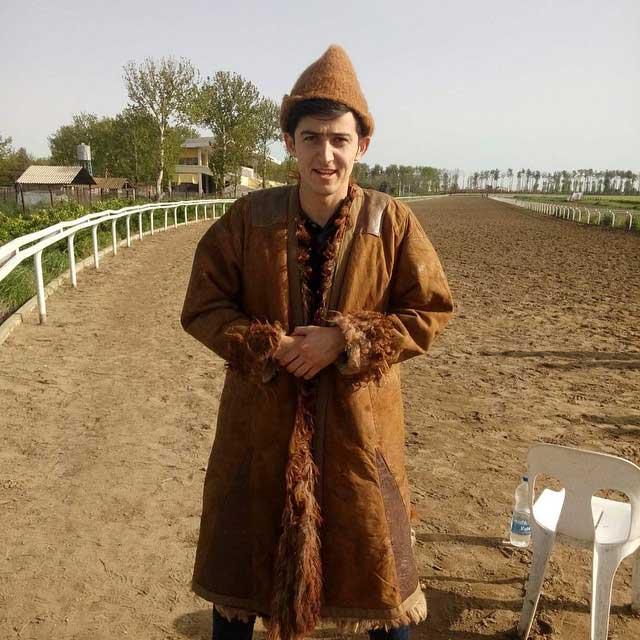 تیپ عجیب سردار آزمون که تا حالا ندیده اید / عکس