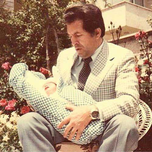 عکس دیده نشده از کودکی بهرام رادان