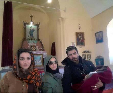 تعطیلات نوروزی روناک یونسی و همسرش در همدان / تصاویر