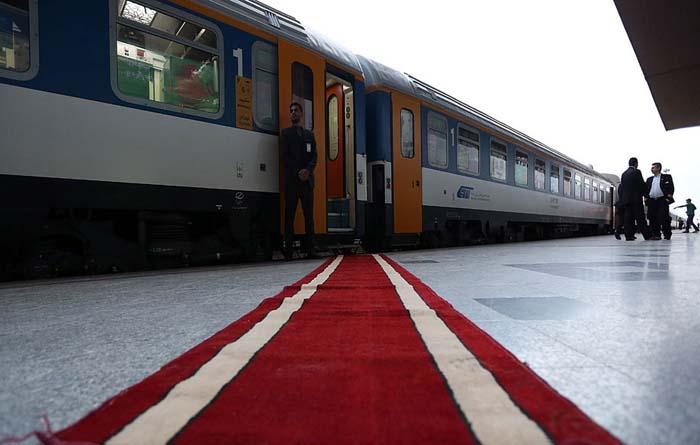 قطار ۵ ستاره تهران   مشهد + تصاویر