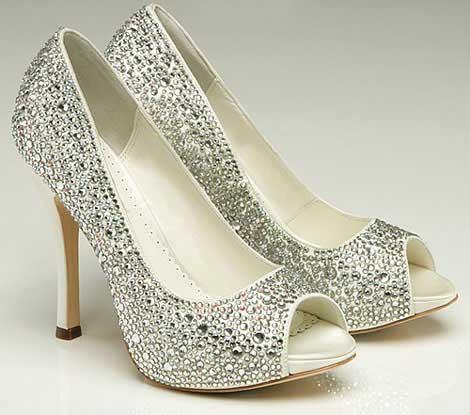 عجیب ترین مدل کفش های مجلسی و عروس