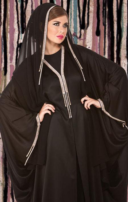 مدل شیک از مانتو عربی مجلسی