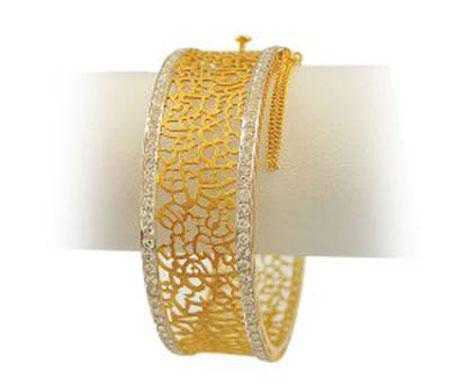 مدل النگو پهن طلا