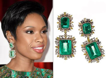 مدل جواهرات گرانقیمت اسکار ۲۰۱۵