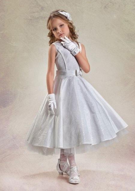 مدل شیک از لباس عروس بچگانه