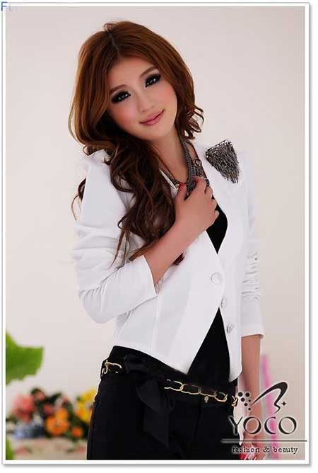 مجلسی ترین مدل کت سفید دخترانه