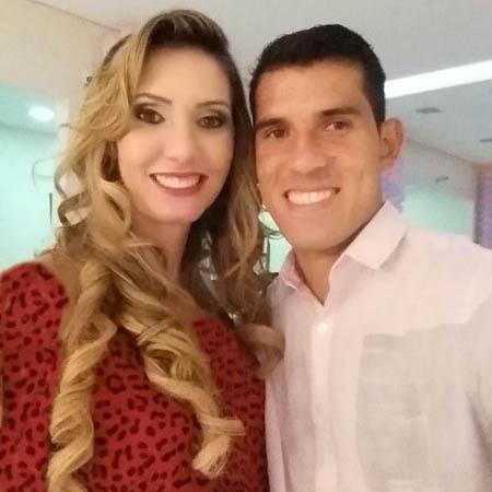 ستاره پرسپولیس در کنار همسرش + عکس