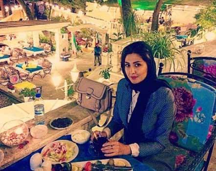 عکس جدید مریم معصومی در یک رستوران مجلل!