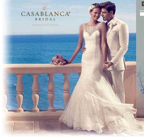 مدل لباس عروس و داماد کازابلانکایی