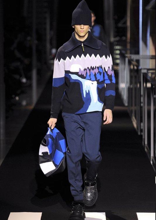 مدل لباس مردانه اسپرت از برند kenzo