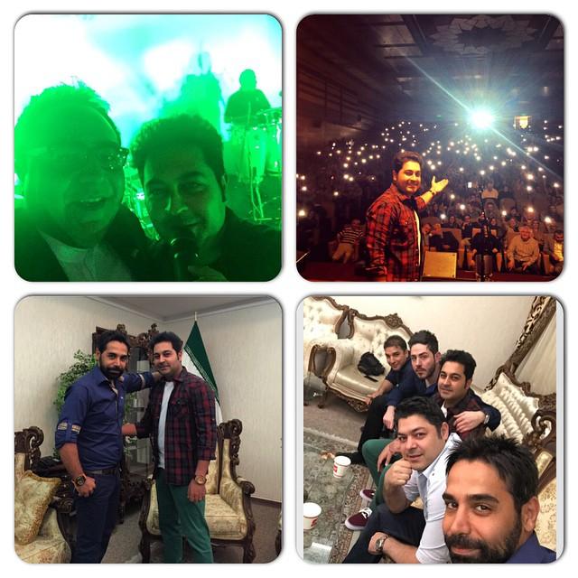 عکس از کنسرت بهنام صفوی در دانشگاه شهید بهشتی