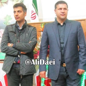 عکسی جدید از علی  دایی و عادل فردوسی پور !