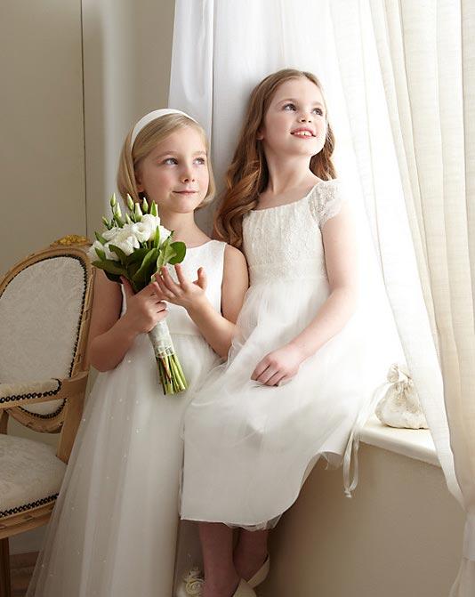 مدل لباس عروس ساده دخترانه johnlewis