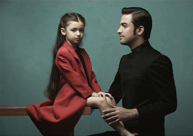 تبریک تولد بنیامین بهادری به دخترش + عکس