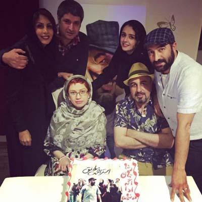 تبریک تولد رضا عطارن توسط ترانه علیدوستی + عکس