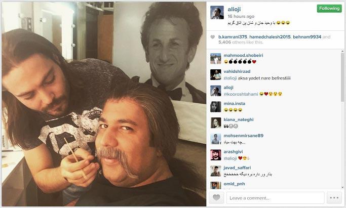 گریم جالب و متفاوت بازیگران درحاشیه + عکس