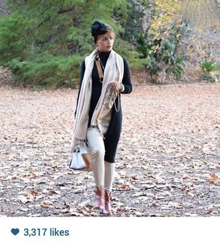 شبنم قلی خانی بدون روسری در استرالیا! / عکس