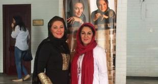 لاله اسکندری در دانشگاه خزر در باكو + عکس