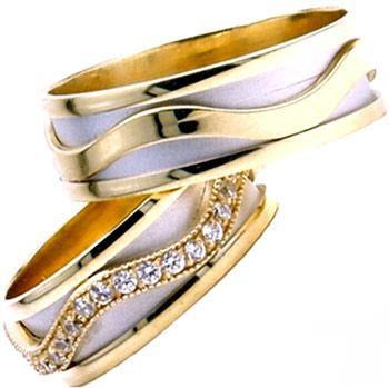 ست حلقه بسیار شیک زنانه