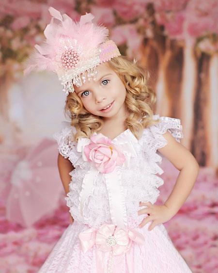 مدل لباس پفی بچگانه مجلسی