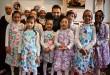 محسن افشانی در کنار کودکان بی سرپرست مشهد