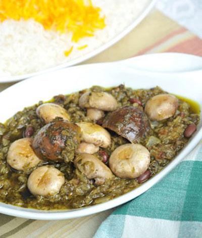 قرمه سبزی گیاهی ویژه افراد گیاهخوار