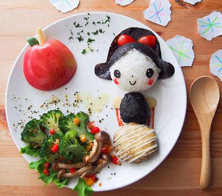 جالب ترین تزیین غذا ویژه کودکان