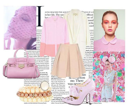 مدل لباس بهاره زیبا از برند ویکتوریا بکهام