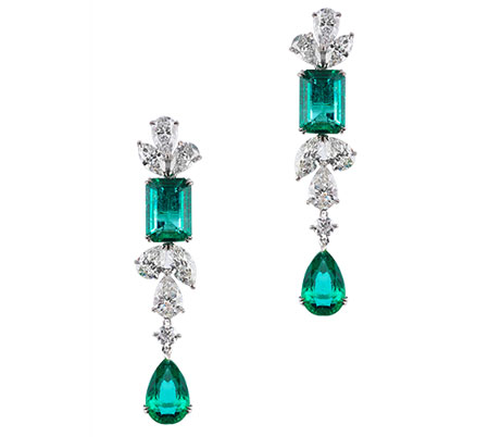 مدل زیبا از جواهرات نگین دار برند Alzain Jewelry