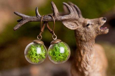مدل جواهرات گرد از جنس طبیعت
