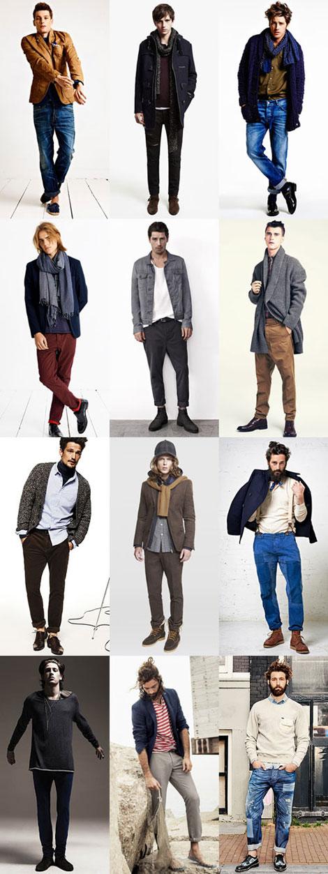 مدل لباس مردانه به سبک بوهو