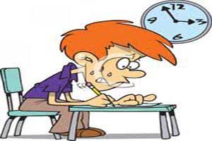 از بین بردن استرس امتحانات توسط والدین