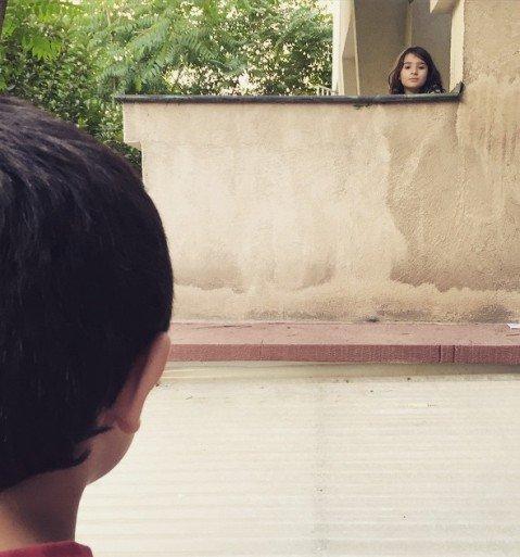 پسر مهراب قاسم خانی و دختر همسایه! + عکس