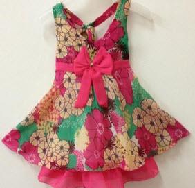 مدل لباس کوتاه بچگانه جذاب