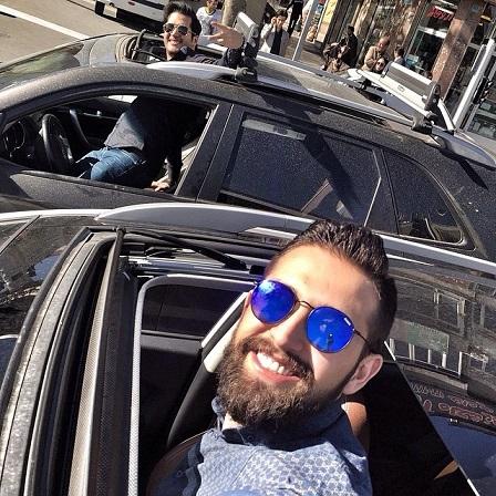 سلفی خطرناک محسن افشانی و سیاوش خیرابی!! / عکس