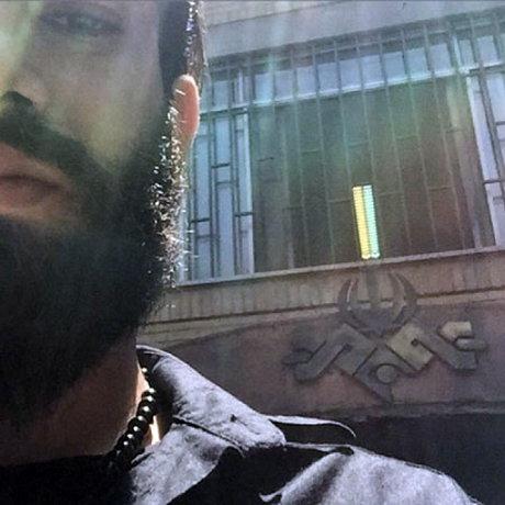 امیر تتلو به صداوسیما رفت / عکس