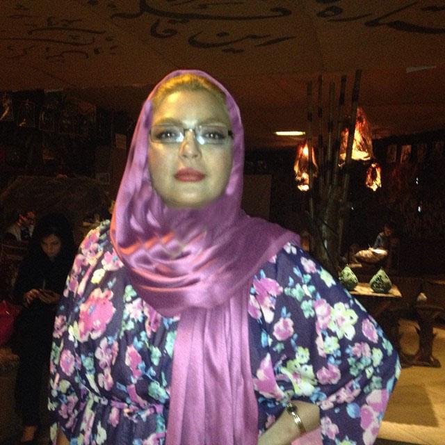 شهرزاد عبدالمجید در کافه سنتی هنرمندان / عکس