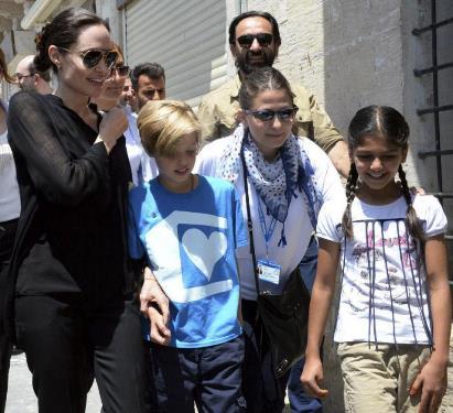 عکس / آنجلینا جولی و دخترش در ترکیه