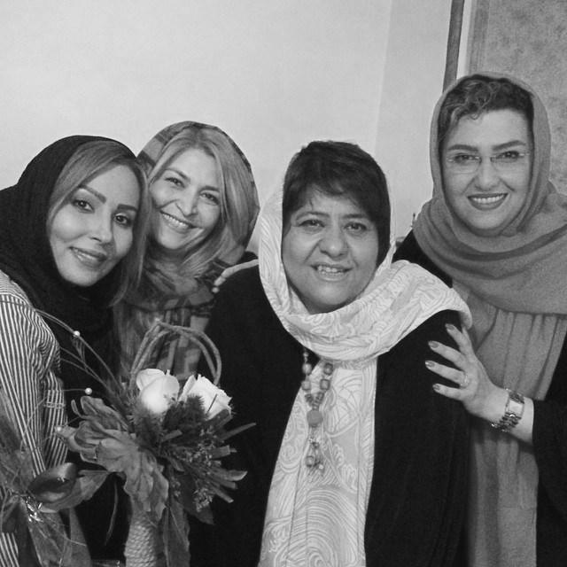 عکس / جشن تولد رابعه ی اسکویی با حضور بازیگران