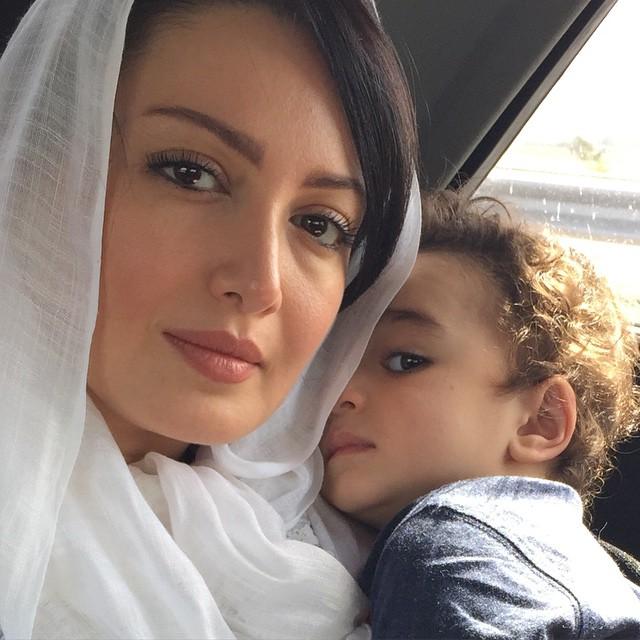 شیلا خداداد و پسرش + عکس