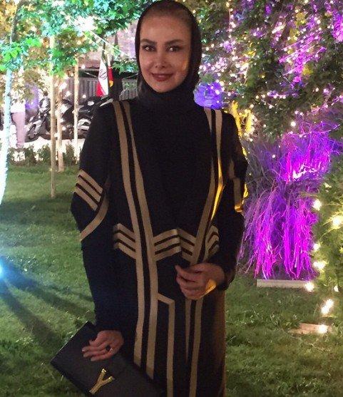 عکس / آنا نعمتی در ضیافت شام جشن حافظ !