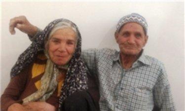 مسن ترین عروس و داماد ایرانی + عکس