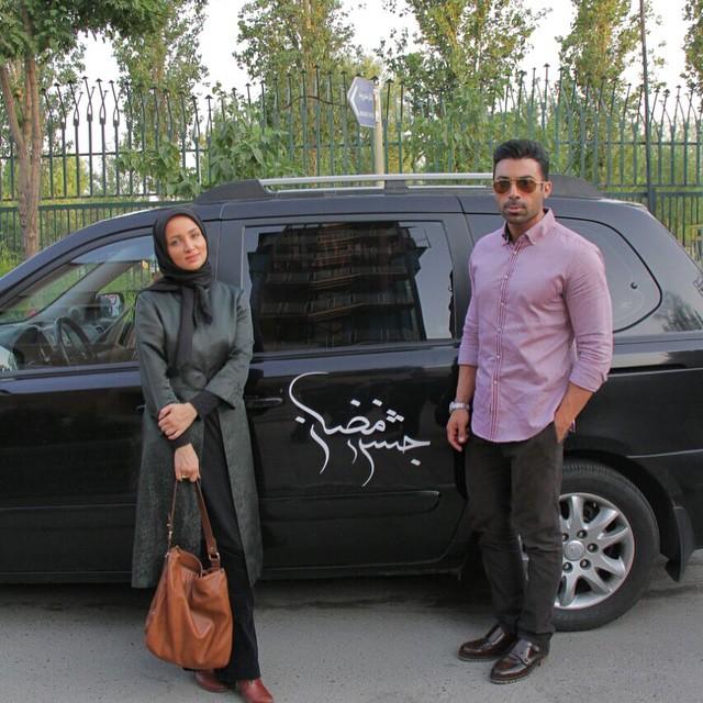 عکس / روناک یونسی و همسرش در جشن رمضان